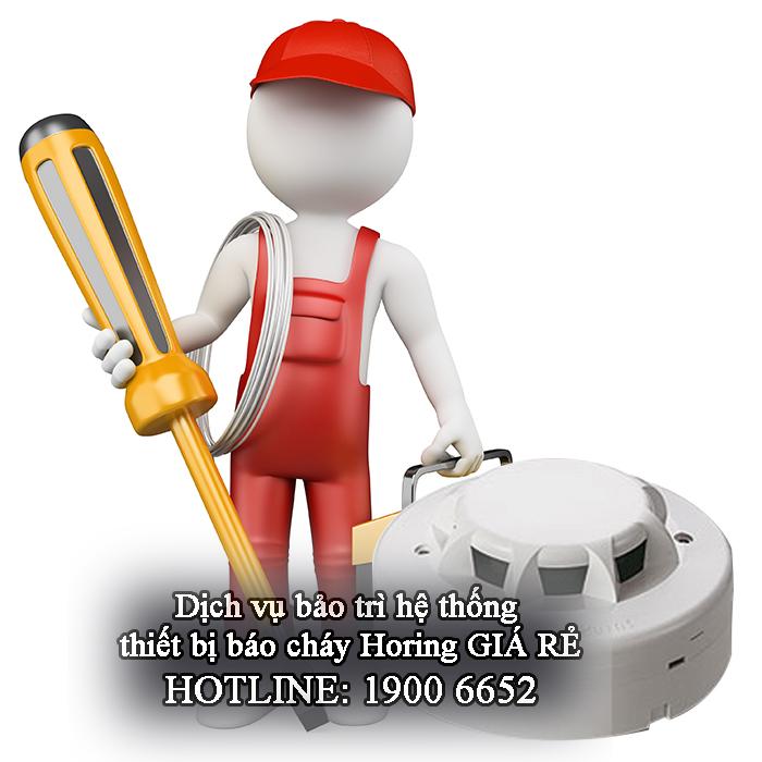 Nhận bảo trì hệ thống thiết bị báo cháy Horing giá rẻ post image