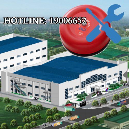 Sửa chữa hệ thống thiết bị báo cháy Horing cho nhà xưởng
