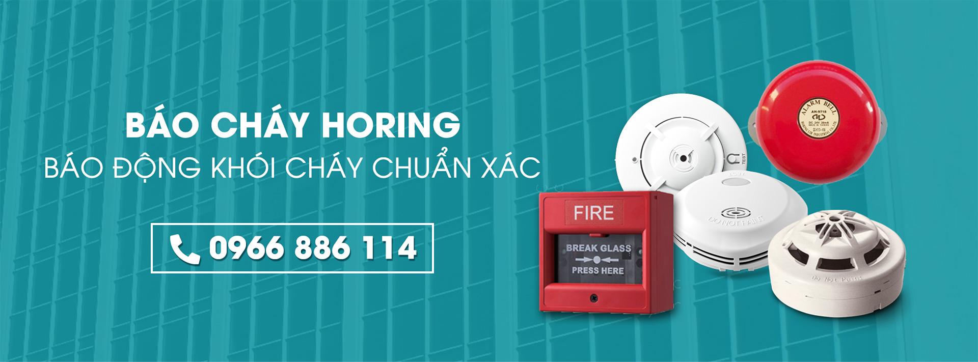 thiết bị báo cháy horing banner